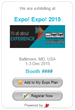 Exhibitor Promotion Tools, Powered by a2z, Increase Reach and Selling Power for IAEE EXPO! EXPO! Exhibitors