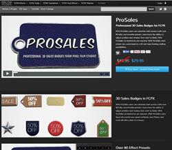Pixel Film Studios FCPX ProSales Plugin.