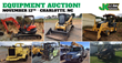 Construction Equipment and Auto Auction, Charlotte, November 12, 2015