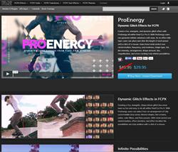Pixel Film Studios FCPX ProEnergy Plugin.