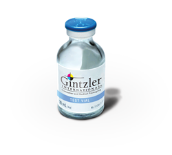 Gintzler International Vial Label