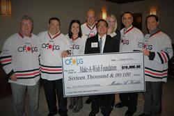 CFO Leadership Group Make a Wish Donation