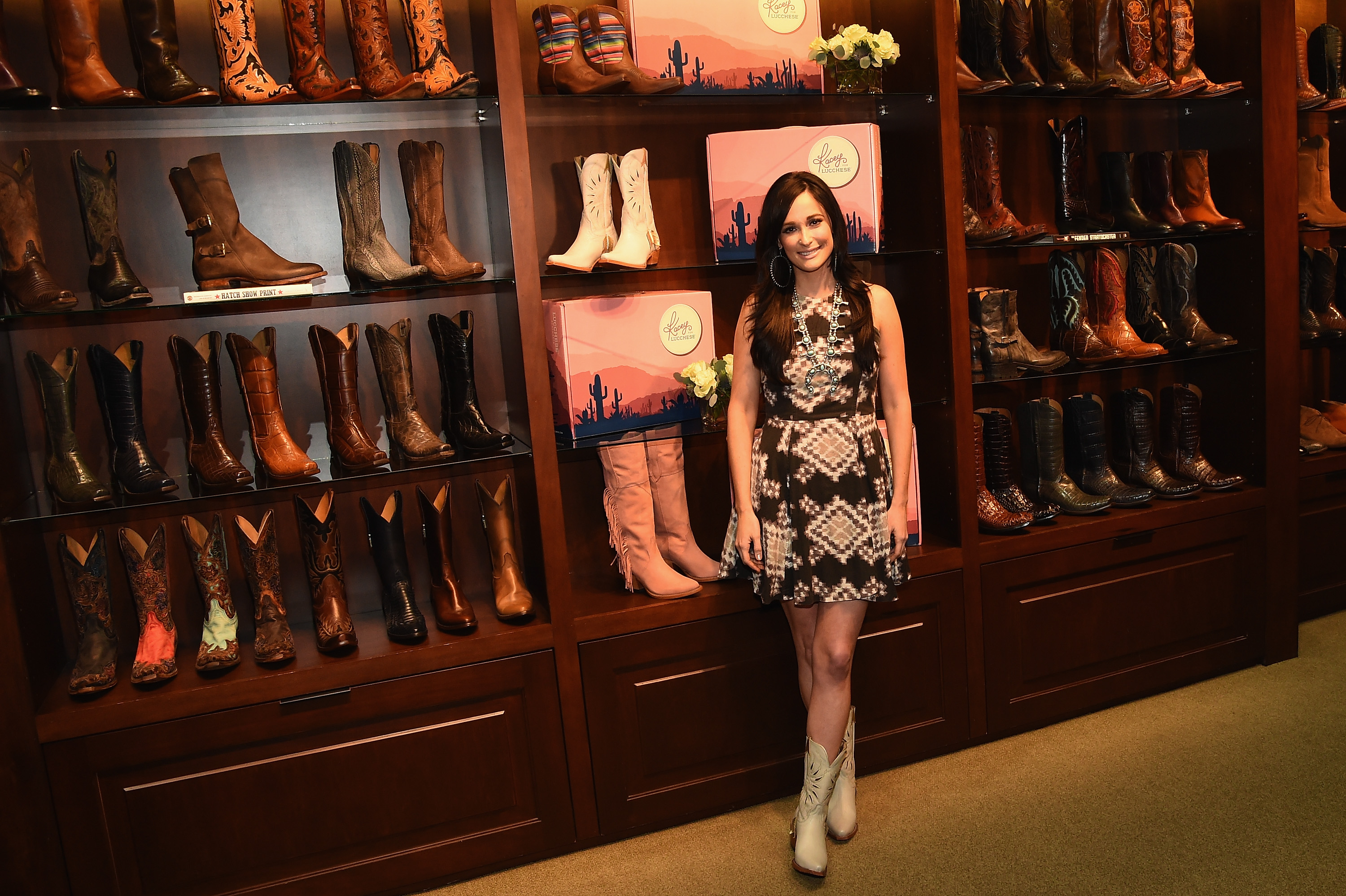 Lucchese And Kacey Musgraves Celebrate The Quot Kacey For
