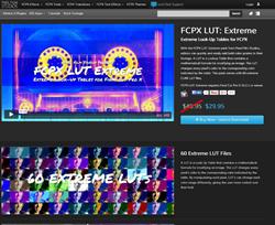 Pixel Film Studios FCPX LUT Extreme Plugin.