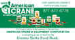 American Crane Celebrates Thanksgiving with the Greater Berks Food Bank
