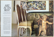 Article in House and Garden April 1984 featuring the Tremaine Collection of Contemporary Art