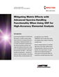 New White Paper from SPECTRO: Why Overcoming Matrix Effects With XRF Analysis Is Critical For High-Accuracy Results