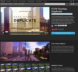 Pixel Film Studios FCPX Overlay Duplicate Plugin.