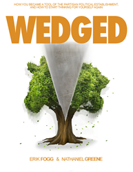 Cover art for the newly-released book Wedged