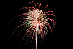 Christmas on Caddo Fireworks Festival