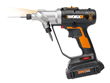 WORX 20V Switchdriver Drill and Driver has a patented rotating, dual chuck that makes switching between bits quick and easy.