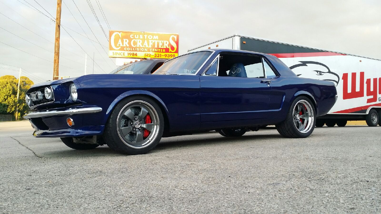 Magrabbit and austin sunshades joins forces with richard woods custom rebuild of 1966 ford mustang for 2015 sema showrichard wood kustoms sciox Choice Image