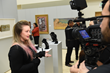 Salt Lake Community College holds annual President's Art Show opening reception, gives out awards.