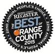 Voted Orange County's Best Cosmetic Surgeon by the OC Register
