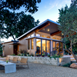 Photo of exterior of panelized prefab home in Napa, CA.