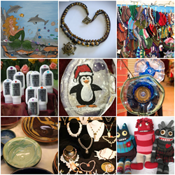 cooperative arts market, Bellingham arts market, holiday arts and crafts market
