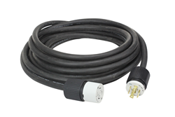 8/4 SOOW Twist Lock Extension Power Cord for 480V, 3-phase Applications