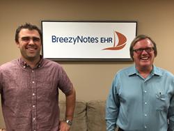 BreezyNotes Co-Founders Paul Jonas (left) and Jim Jonas (right).
