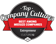 Walker Sands Ranked 20th On Inaugural Top Company Cultures List Presented By Entrepreneur And CultureIQ