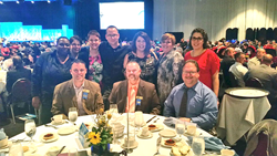 TRAXERS Celebrating at the RBA Awards Luncheon.