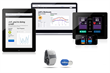 Beneufit's pdFIT™ app, patient dashboard and sensor bundle including MIO Global's LINK heart rate monitor.