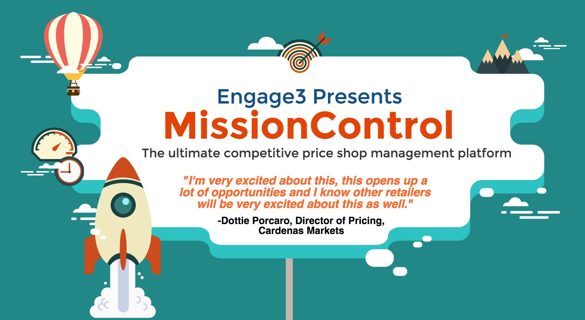 Technology Management Image: Engage3 Launches MissionControl