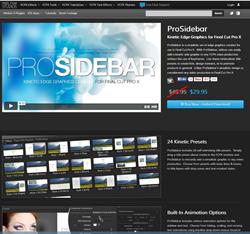 Pixel Film Studios ProSidebar Plugin.