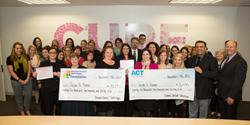 ACT Holdings Donates $51,670 to Susan G. Komen.