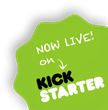 We're live on kickstarter