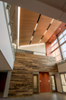 Our reclaimed hardwoods are featured in Rochester Institute of Technology's College of Health Sciences and Technology.