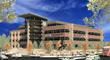 CSU Medical Center - Exterior Rendition
