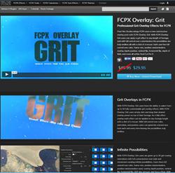 Pixel Film Studios FCPX Overlay Grit Plugin.