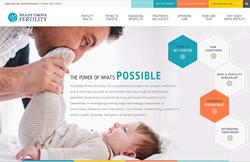 Shady Grove Fertility's New Website