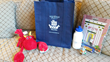 Kids get a Hotel Viking logo bag and water bottle plus additional gifts .