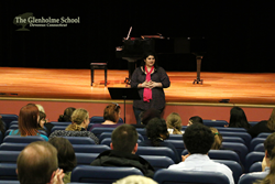 Ally Del Monte at The Glenholme School August 2015