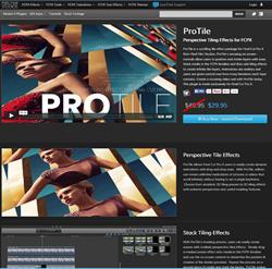 Pixel Film Studios ProTile Plugin.