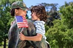 A Veterans Day embrace MarketSource celebrates