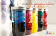 A simple technique is to dye cotton yarn in a glass jar for all-over color saturation.
