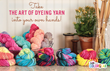 A variety of colors can easily be achieved for custom yarns for knitting, crochet and crafts.