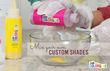 Dye powders can be mixed to achieve custom colors with Tulip Custom ColorLab.
