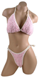 Anna Nicole Smith's Pink Terry Cloth Bikini