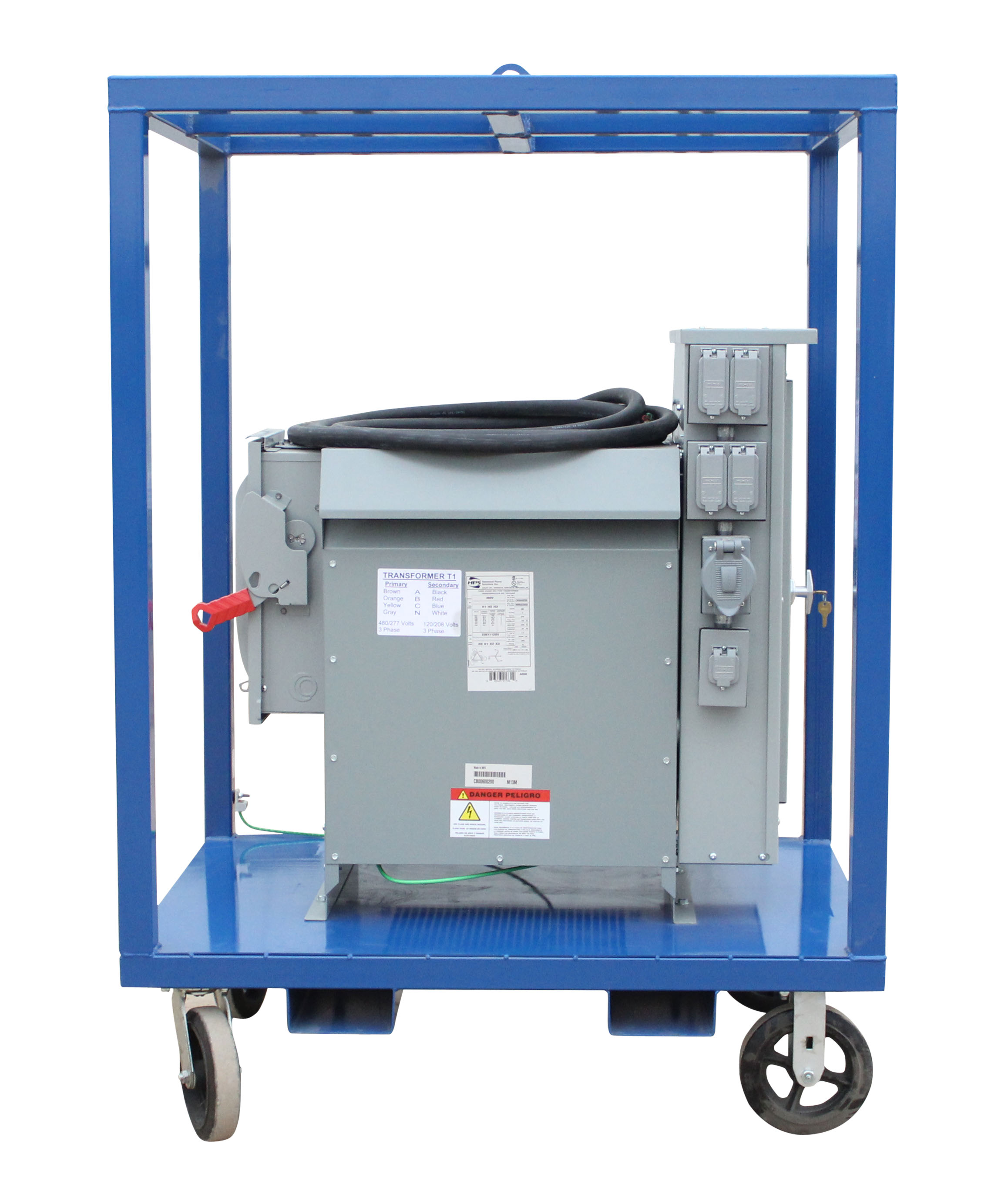 Larson Electronics Releases Heavy Duty 45 KVA Power Distribution