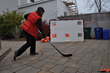 hockey net, IoT, testing
