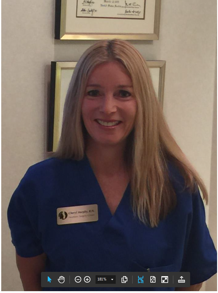 aesthetic surgery center is proud to welcome cheryl murphy
