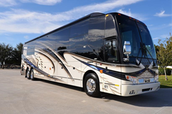 Triple Slide - Prevost Motorcoach