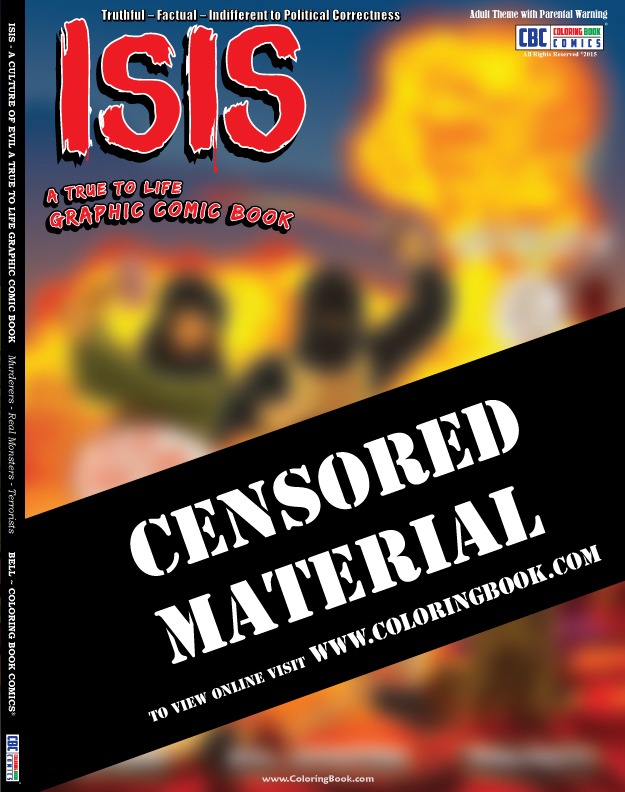 ISIS Coloring Book Comic Offers Bold Graphic Visual Punch