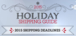 New ShipStation Infographic Provides 2015 Holiday Shipping Cutoff Dates by Carrier
