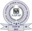 NAPAP Top 10 2015 Recognition to Armando Hernandez, Hernandez & Company, CPAs