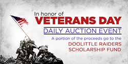 Veterans Day Online Auction