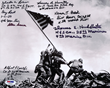 """Raising The Flag on Iwo Jima"""